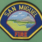 San Miguel California Fire Rescue Patch
