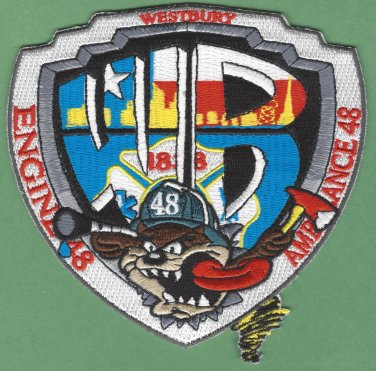 Houston Fire Department Station 48 Company Patch