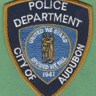 Audubon New Jersey Police Patch