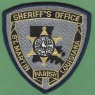 St. Martin Parish Sheriff Louisiana Police Patch