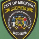 Muskego Wisconsin Police Patch