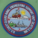 United States Coast Guard Seattle Naval Engineering Support Unit Patch