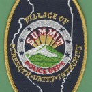 Summit Illinois Police Patch