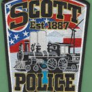 Scott Ohio Police Patch