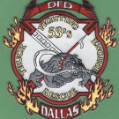 Dallas Fire Department Texas Station 53 Company Patch