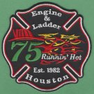 Houston Fire Department Station 75 Company Patch