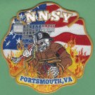 Newport News Shipyard Portsmouth Virginia Fire Patch