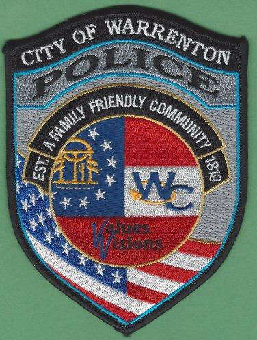 Warrenton Georgia Police Patch
