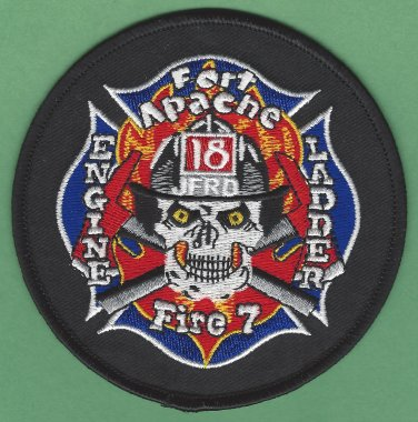 Jacksonville Fire Department Station 18 Company Patch