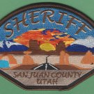 San Juan County Sheriff Utah Police Patch