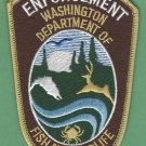 Washington State Fish & Wildlife Enforcement Police Patch