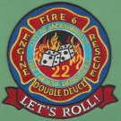 Jacksonville Fire Department Engine 22 Rescue 22 Company Patch