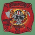 Memphis Fire Department Truck Company 2 Patch