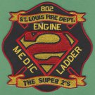 St. Louis Fire Department Station 2 Company Patch