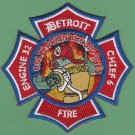 Detroit Fire Department Engine Company 32 Fire Patch