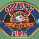 Quincy California Fire Rescue Patch