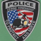 Zerbe Township Pennsylvania Police Patch