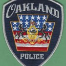Oakland Pennsylvania Police Patch