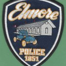 Elmore Ohio Police Patch