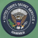 UNITED STATES SECRET SERVICE HAMMER TEAM PATCH
