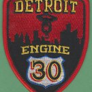 Detroit Fire Department Engine Company 30 Fire Patch