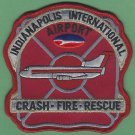 Indianapolis International Airport Indiana Crash Fire Rescue Patch ARFF