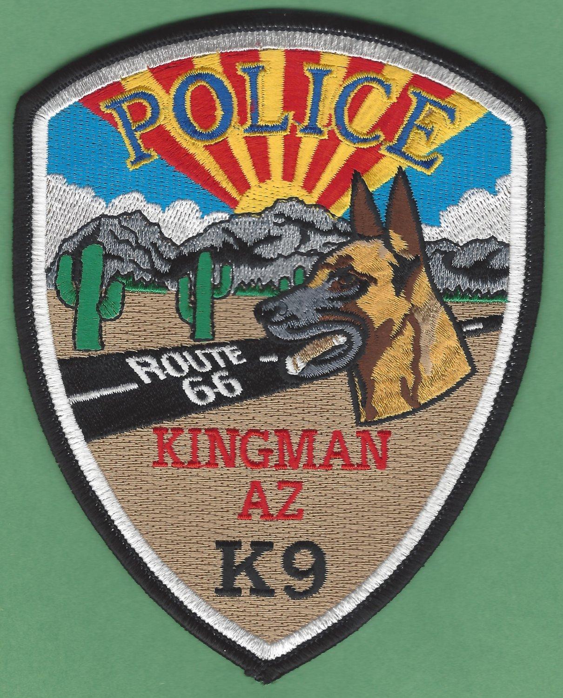 Kingman Arizona Police K-9 Unit Patch