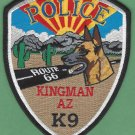 Kingman Arizona Police K-9 Unit Patch