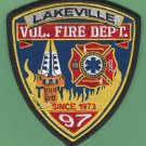 Lakeville California Fire Rescue Patch