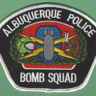 Albuquerque New Mexico Police Bomb Squad Patch