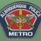 Albuquerque New Mexico Police Metro Special Investigations Division Patch