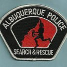 Albuquerque New Mexico Police Search & Rescue Team Patch