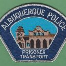 Albuquerque New Mexico Police Prisoner Transport Patch