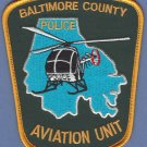 Baltimore County Maryland Police Helicopter Aviation Unit Patch
