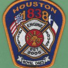 Houston Fire Department Station 83 Company Patch