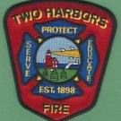 Two Harbors Minnesota Fire Patch