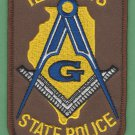 Illinois State Police Masonic Lodge Patch