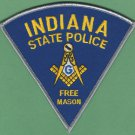Indiana State Police Masonic Lodge Patch