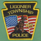 Ligonier Township Pennsylvania Police K-9 Patch
