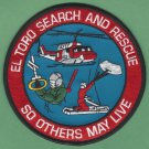 El Toro Marine Corps Air Station Search & Rescue Helicopter Patch