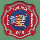 Fort Polk Military Base Louisiana Fire Patch