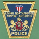 Lehigh Northampton Airport Authority  Pennsylvania Police Patch