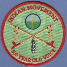 AIM American Indian Movement 500 Year Old Voice Patch