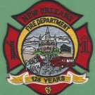 New Orleans Louisiana Fire Rescue Patch