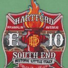 Hartford Fire Department Engine Company 10 Fire Patch