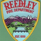 Reedley California Fire Rescue Patch