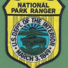 United States National Park Ranger Patch
