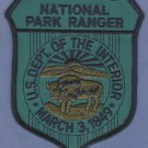 United States National Park Ranger Tactical Patch