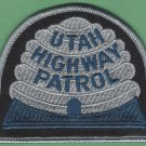 Utah Highway Patrol Police Patch Tactical Gray