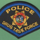 Southern Alameda County California Police Drug Task Force Patch